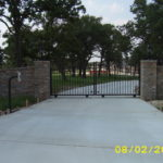 driveway gate beeville texas