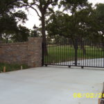 dual sliding gate rockport texas